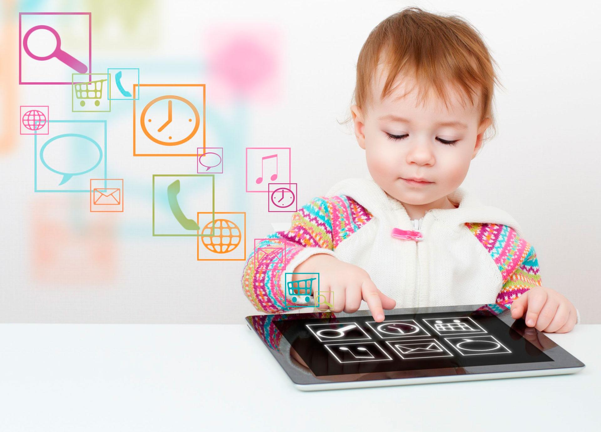 Generación Touch: hacia dónde miran los niños digitales