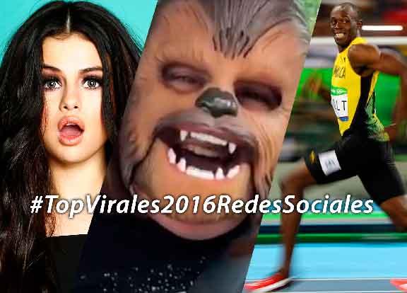Ranking de los virales en las Redes Sociales 2016