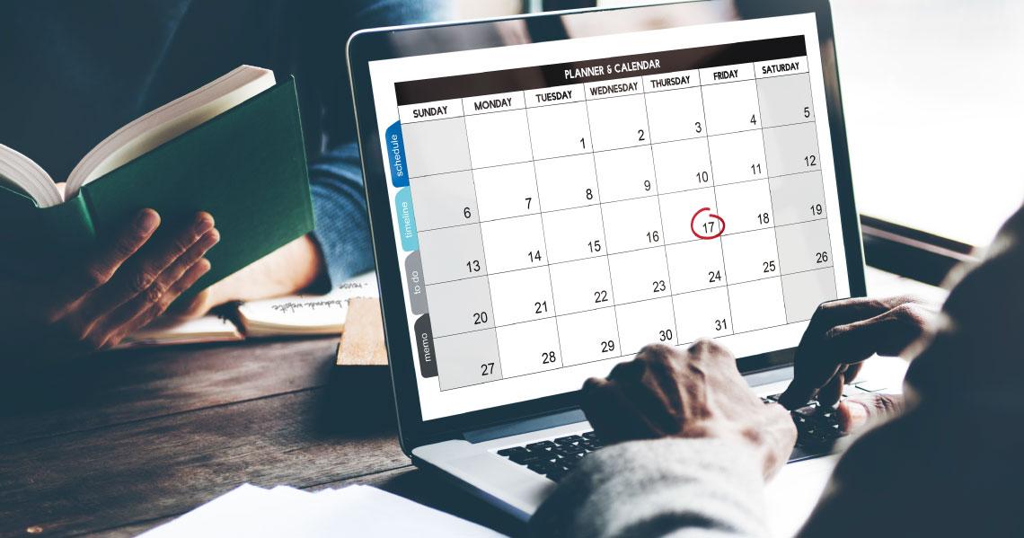 ¿Qué es un calendario de contenidos?