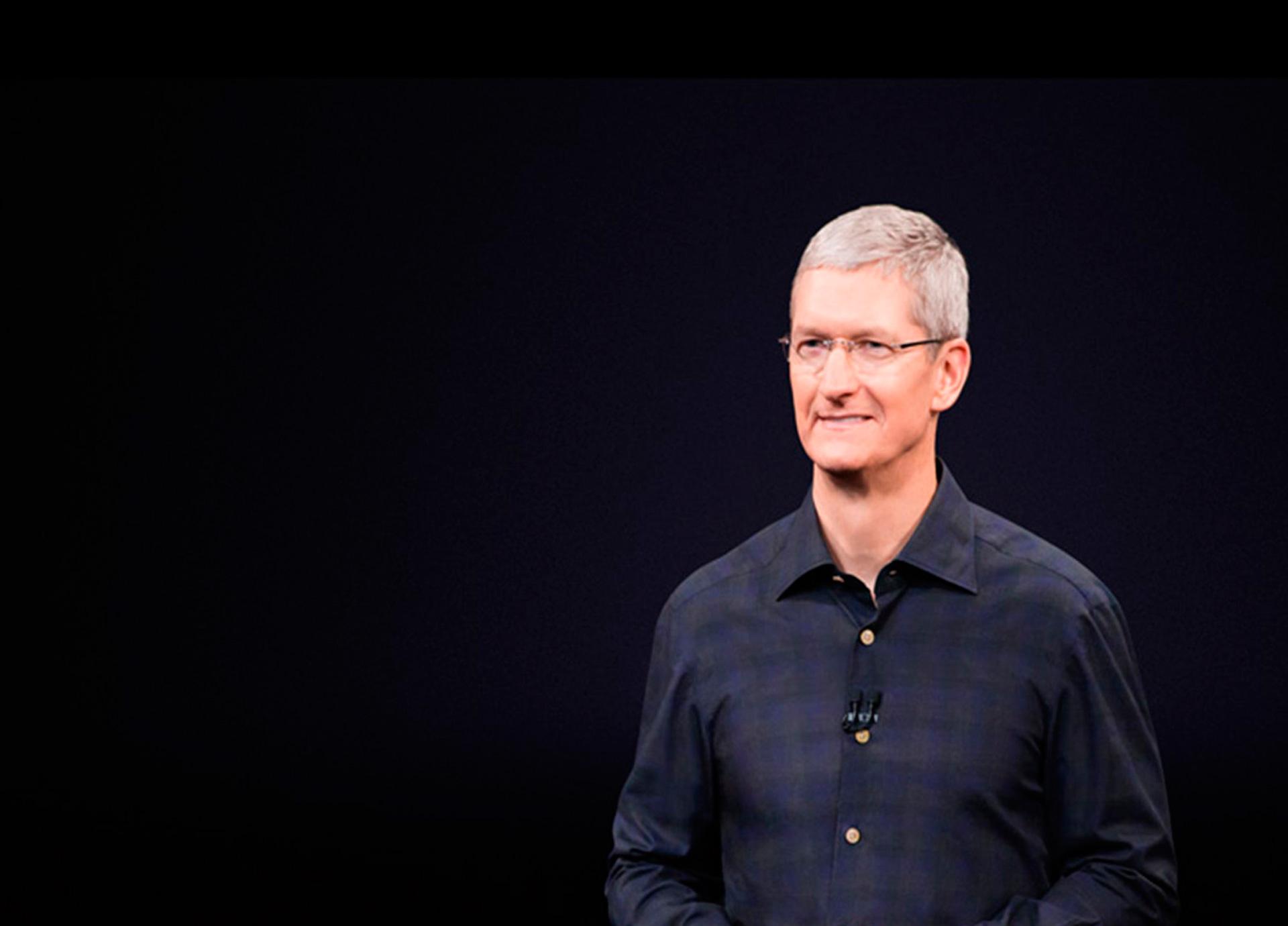 CEO de Apple: 'Las noticias falsas matan la mente'