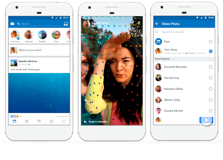 Facebook Stories: Las historias efímeras llegan a Facebook