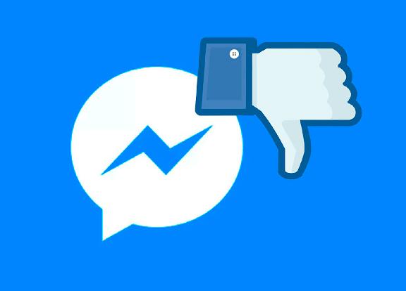 Facebook prueba un botón 'No me gusta' en Messenger