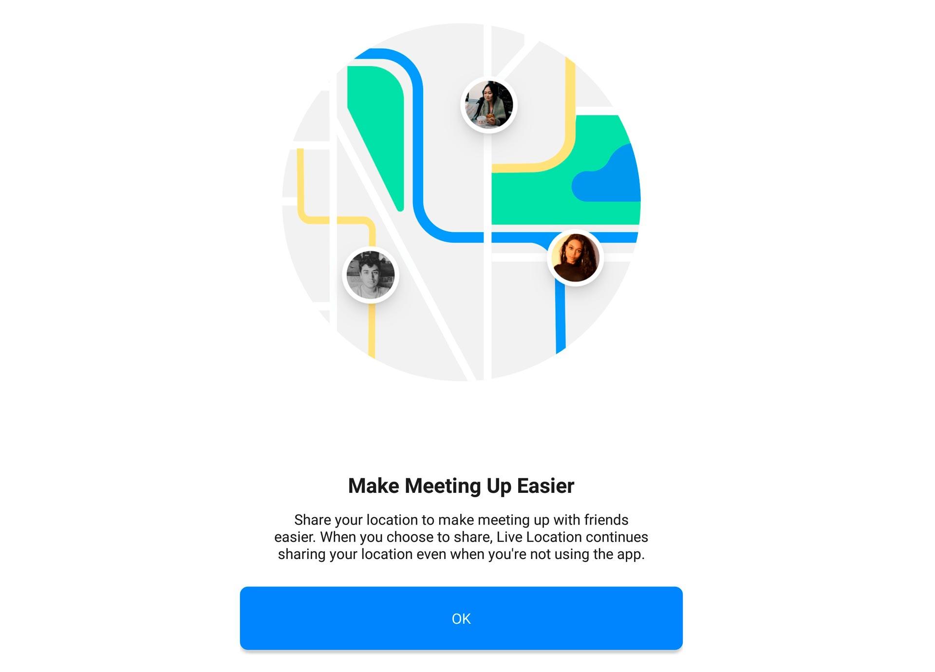 Facebook Messenger permitirá compartir tu localización en vivo
