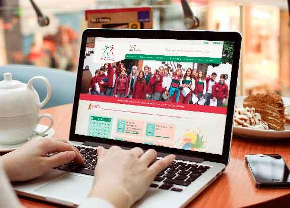 ¡Te invitamos a revisar el nuevo y remozado sitio web de colegio Madrigal!