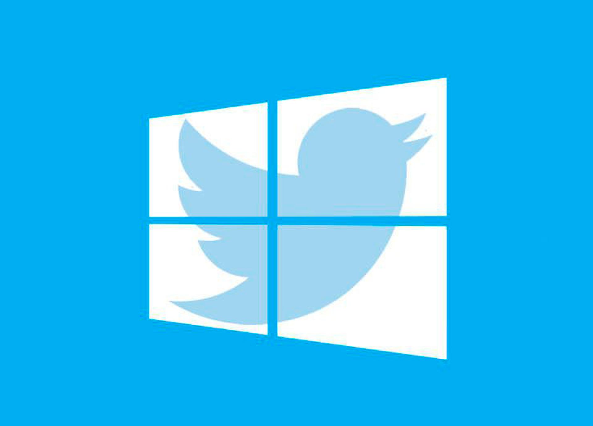 Twitter prueba una versión experimental de su app para Windows 10