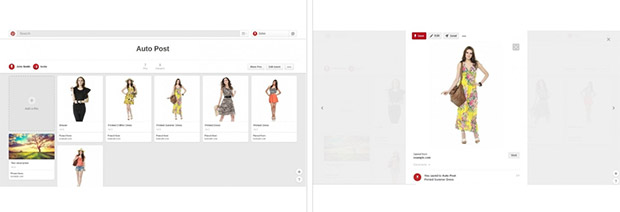 auto post products to pinterest